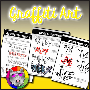 Graffiti Art Lessons: Draw in the Graffiti Style - Distance Learning Art