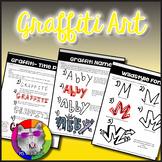 Graffiti Art Lessons: Draw in the Graffiti Style - Distanc