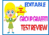 Graffiti Group Test Review Activity with lesson plan and picture examples