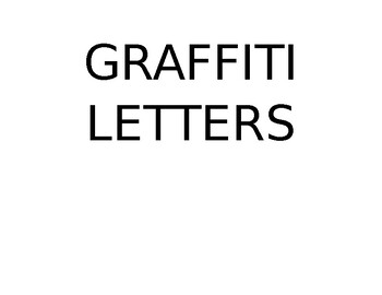 Graffiti Letters Book