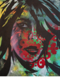 Graffiti Self-Portrait