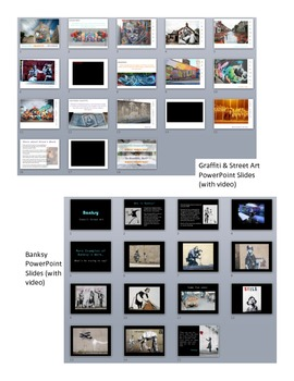 Graffiti, Street Art, and Banksy Art Lesson and Project