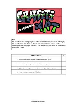 Graffiti Unit Plan Art