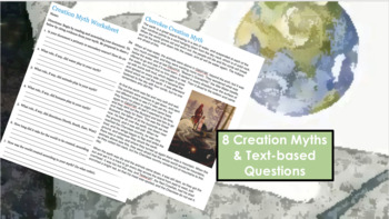 Creation Myths: Graffiti Wall for Ancient Civilizations PLUS Tea Party!