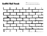 Graffiti Wall Vocabulary