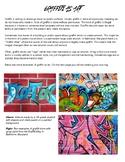 Graffiti as Art: Mini Lesson or Sub Plan