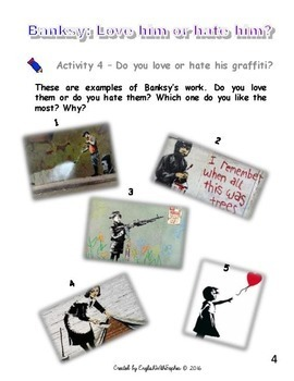 Graffity: Banksy, love him or hate him UPDATED