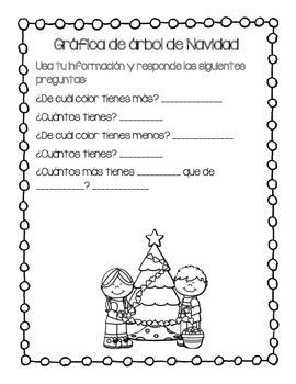 Grafica de arbol de navidad