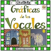 Graficas de las vocales-CRAFTIVITY