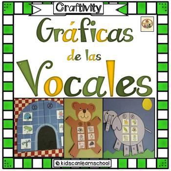 Graficas de las vocales-CRAFTIVITY