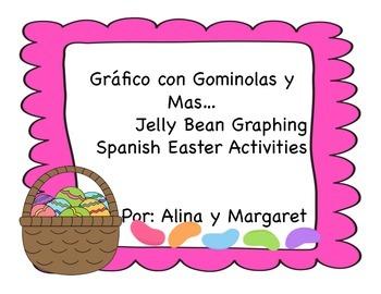 Grafico de Golominas para Pascua/ Easter Activities