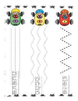 Grafomotricidad Numeros y letras