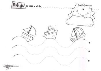 Grafomotricidad para Educación Infantil /Fine motor skills and strokes, early ed