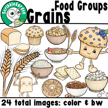 Grains: Food Groups ClipArt