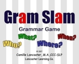 Gram Slam Grammar Game