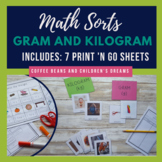 Gram and Kilogram Sort