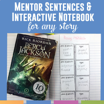 Mentor Sentences and Interactive Notebook Activities