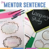 Grammar Mentor Sentences: Free Grammar Study