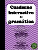 Gramatica: Cuaderno interactivo de gramatica