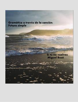 Spanish song /Gramática a través de la canción:Futuro Simple
