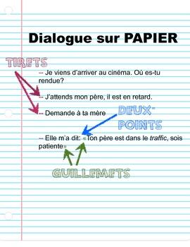 French Grammar / Core / Immersion // Grammaire: Le dialogue écoute