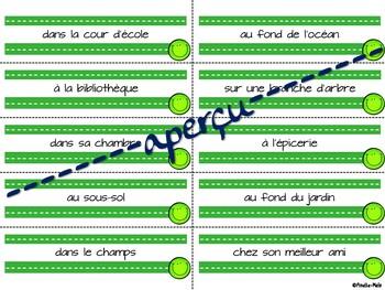 Grammaire de la phrase - Atelier