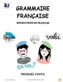 Grammaire française, french grammar, version all french (#144)