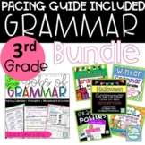 3rd Grade Grammar Bundle ~ Grammar for The Year with Pacing Calendar and Lessons