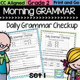 Grammar Review Morning Work