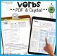 Grammar Workbook Parts of Speech Unit  Verbs, Nouns, Adjec