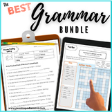 Grammar Workbook Parts of Speech Unit  Verbs, Nouns, Adjectives, Pronouns, +