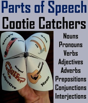 2nd to 5th Grade Grammar Activities Bundle: Nouns Verbs Adjectives etc.