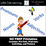 2nd Grade Common Core Grammar: 2nd Grade Grammar Worksheet