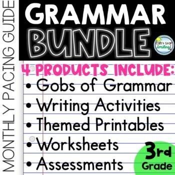 Grammar 3rd Grade MEGA Bundle