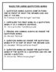 Grammar - 4 Kinds of Sentences Commas Quotation Marks for Grades 3 - 8