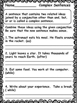Grammar: 4th Grade