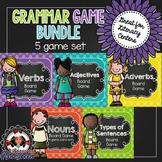 Grammar Games -  Nouns, Verbs, Adjectives, Adverbs