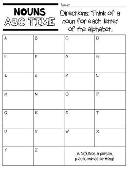 Grammar ABC Time