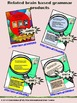 Grammar Action Unit 1 - Cheat Sheets, Games, Answer Keys (6 -12+)