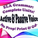 Grammar: Active & Passive Voice - Complete Unit!