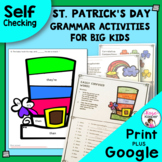 St. Patrick's Day Grammar Activities