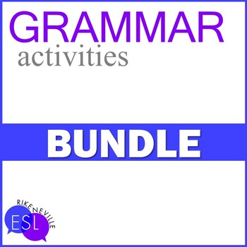 Grammar Activities BUNDLE
