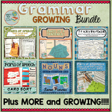 Grammar Activities Growing Bundle