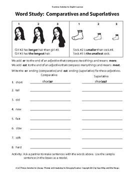 Grammar Activities for ESL Beginners