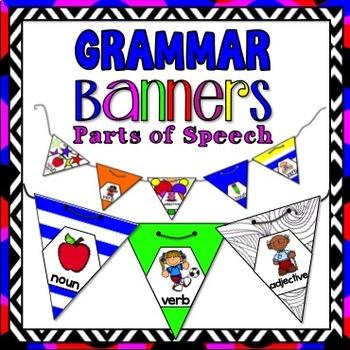 Grammar Activity:  Grammar Banners
