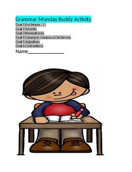 Grammar Activity using RAP