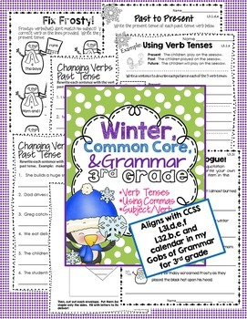 Grammar Add On Bundle 3rd Grade