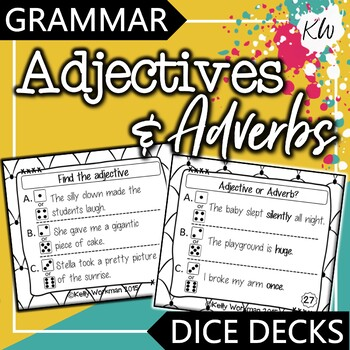 Grammar: Adjectives and Adverbs Game