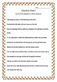 Grammar Adjectives sheet 1