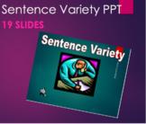 Grammar - Sentence Variety PPT